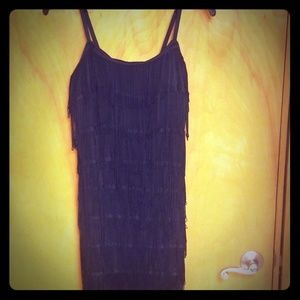 Forever 21 Fringe Dress LARGE